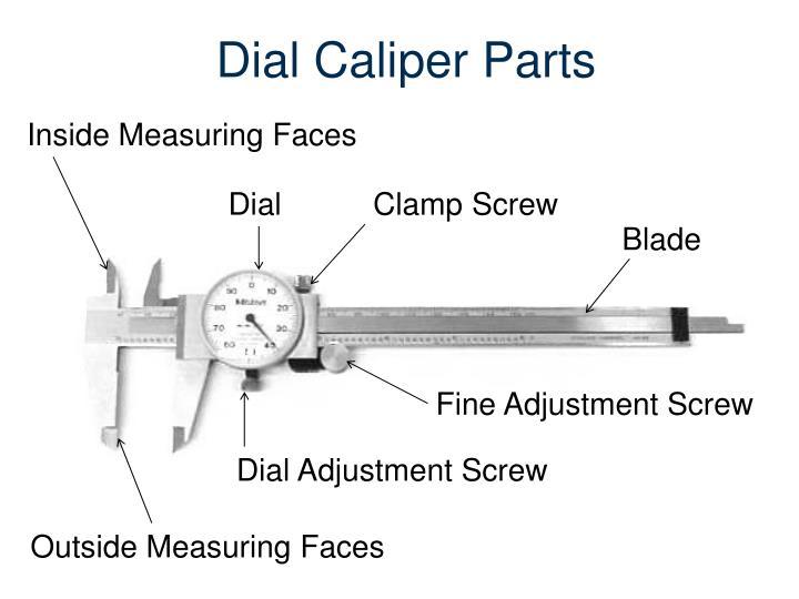 Dial Caliper Parts
