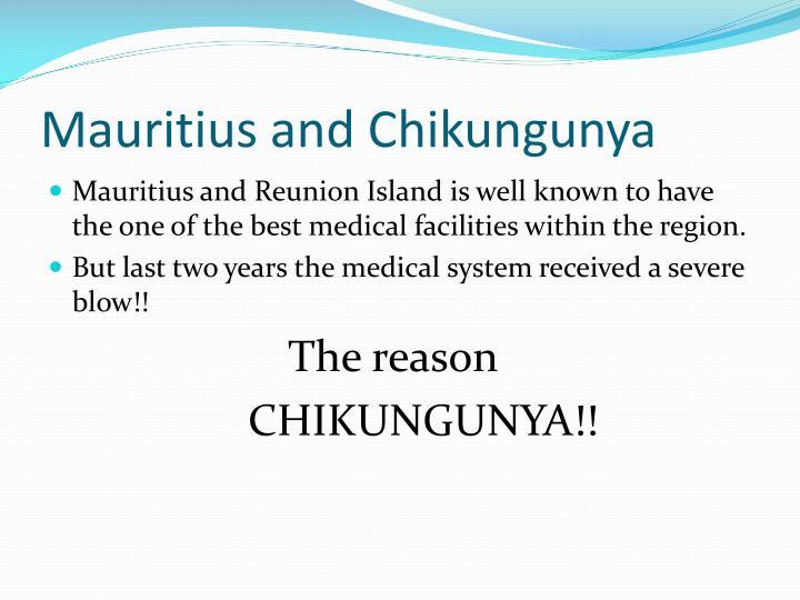 Mauritius and Chikungunya