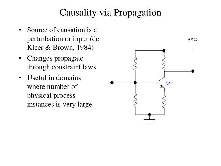 Causality via Propagation