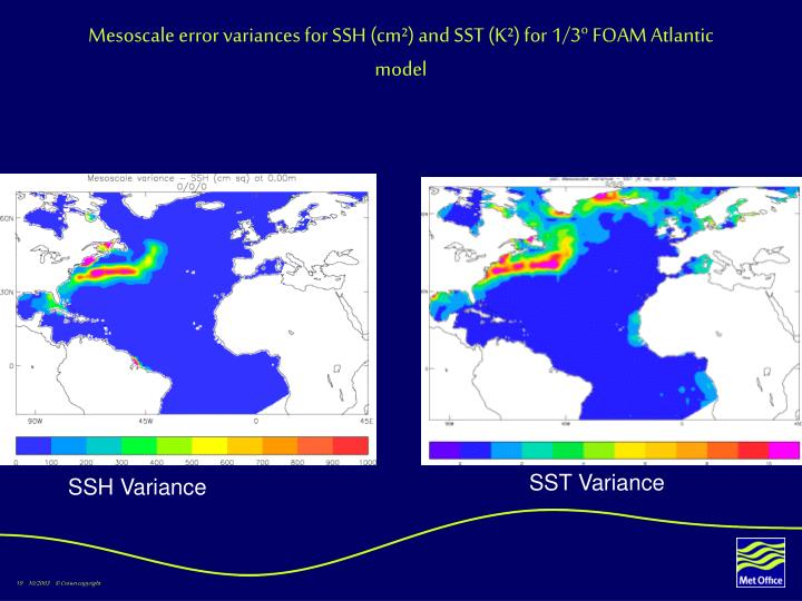 Mesoscale error variances for SSH (cm