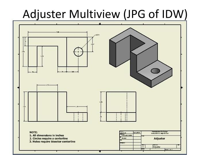 Adjuster Multiview (JPG of IDW)