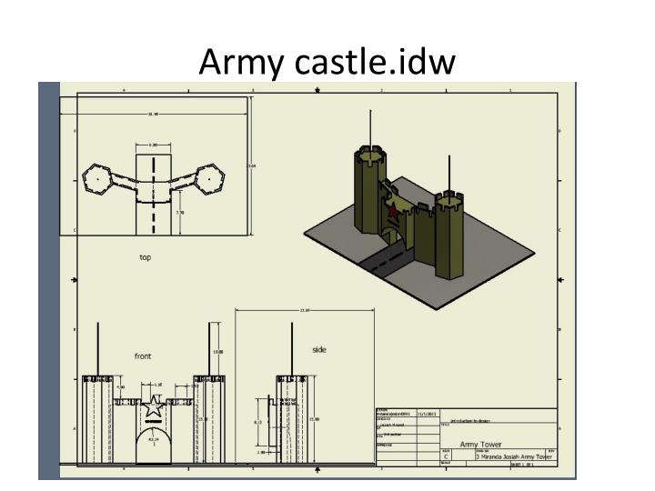 Army castle.idw