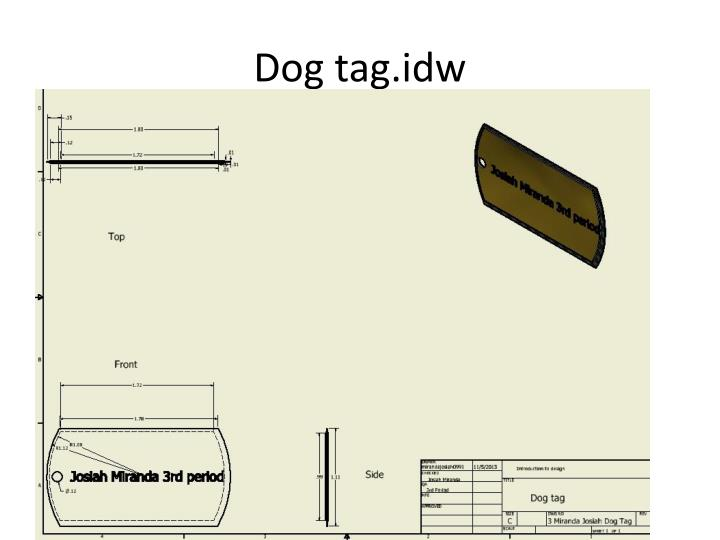 Dog tag.idw