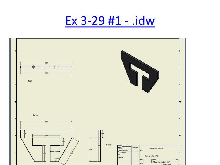 Ex 3-29 #1 - .idw