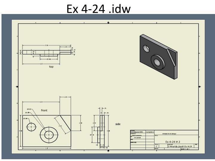 Ex 4-24 .idw