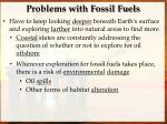 problems with fossil fuels2