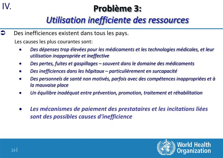 Problème 3: