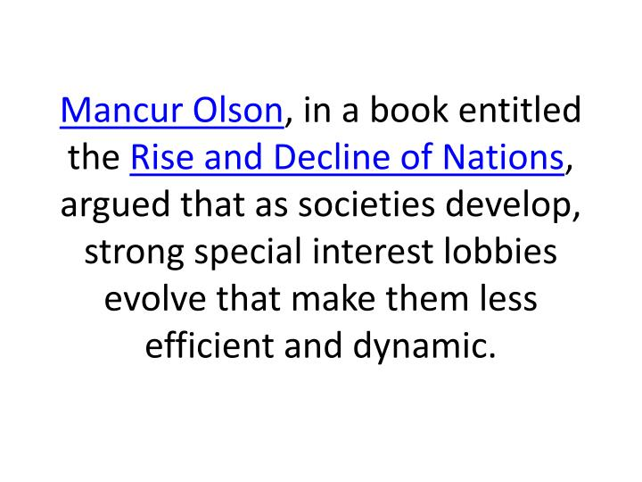 Mancur Olson