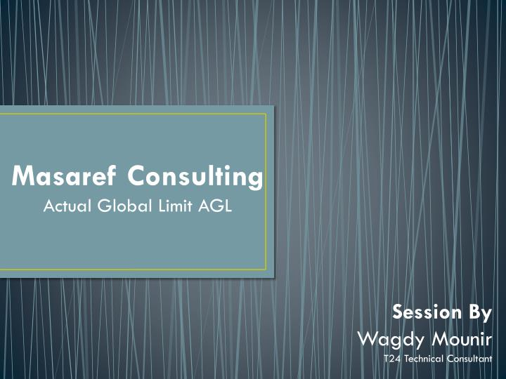 Masaref Consulting