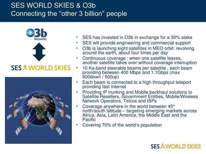 SES WORLD SKIES & O3b
