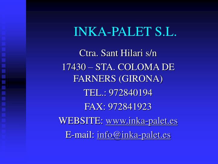 INKA-PALET S.L.