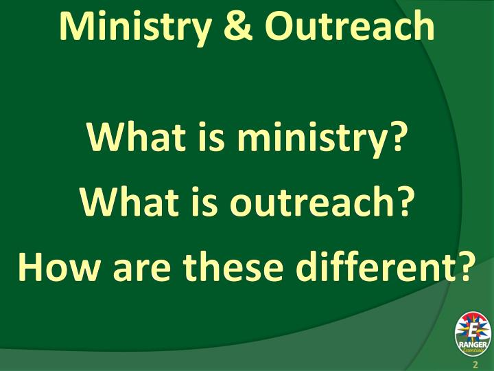 Ministry outreach1