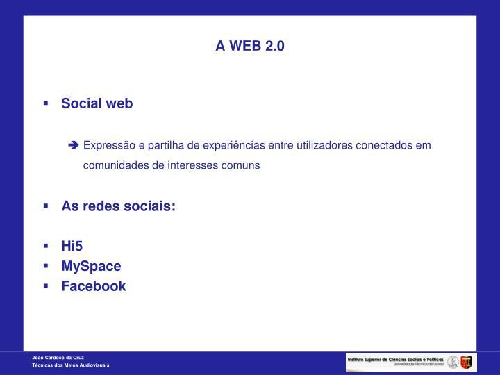 A WEB 2.0