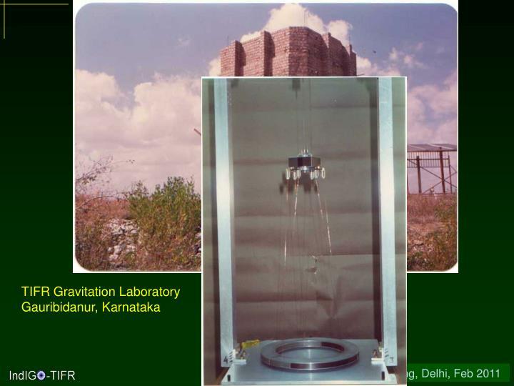 TIFR Gravitation Laboratory