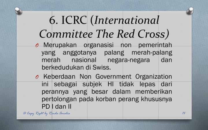6. ICRC (