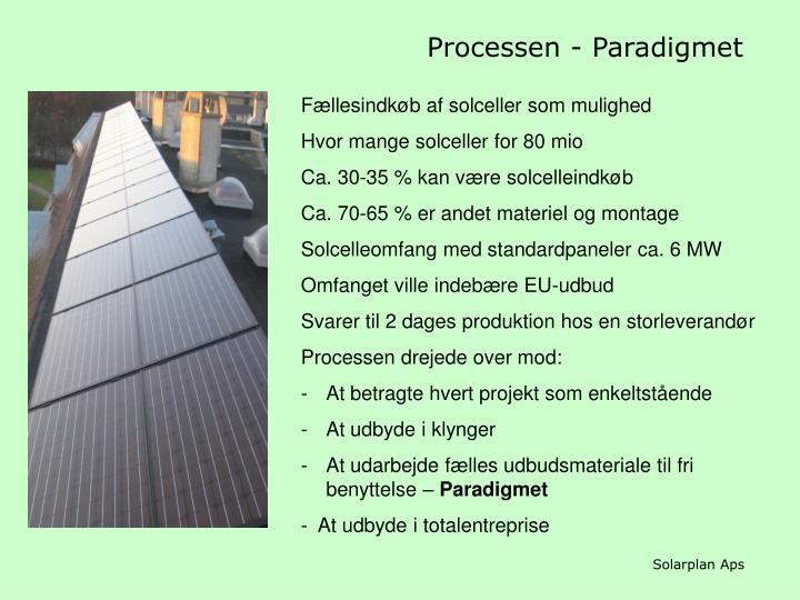 Processen - Paradigmet
