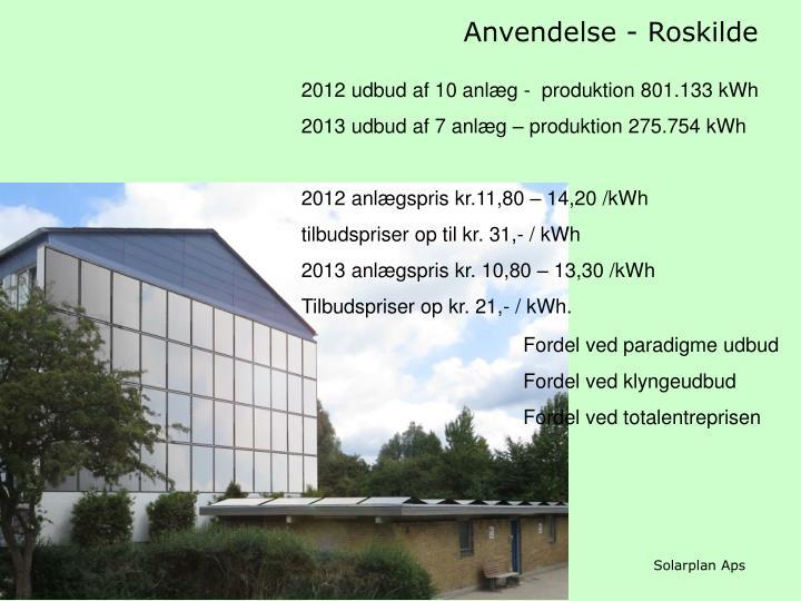 Anvendelse - Roskilde