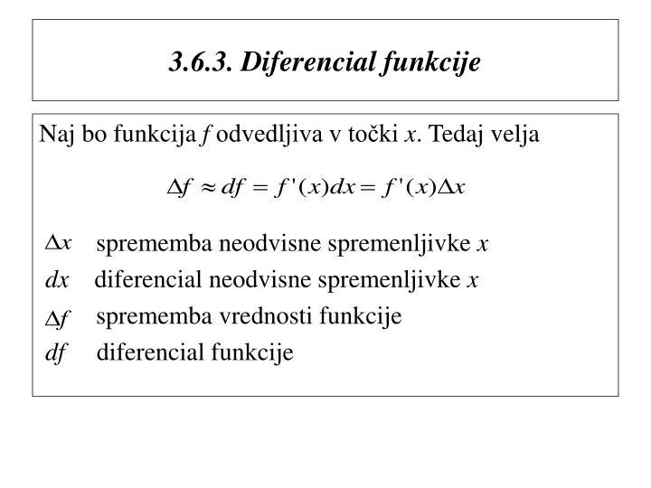 3.6.3. Diferencial funkcije