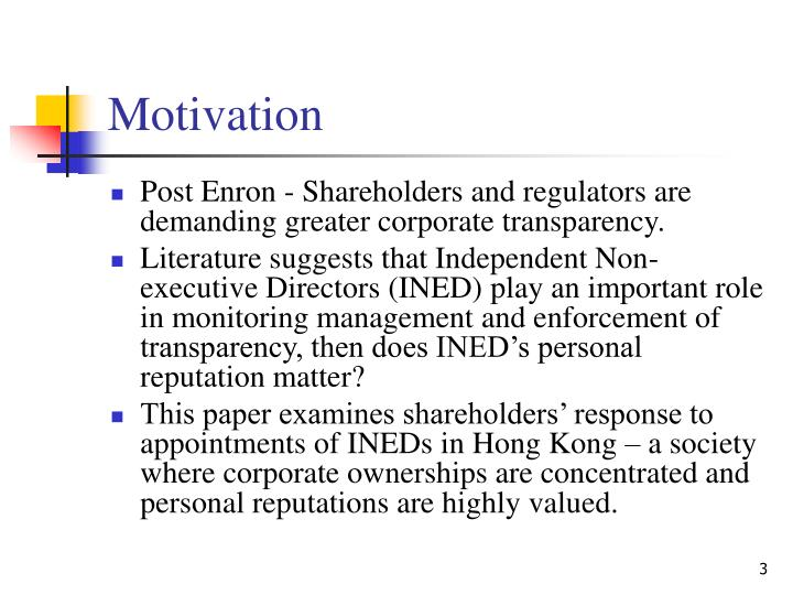 ined in hong kong The deloitte ined workshop series were invited to fill in a questionnaire to gauge the level of understanding of senior business executives in hong kong regarding.