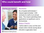 who could benefit and how3