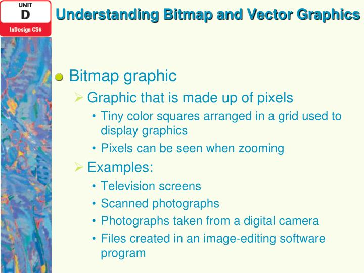 Understanding bitmap and vector graphics