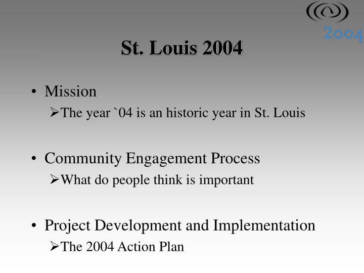 St. Louis 2004