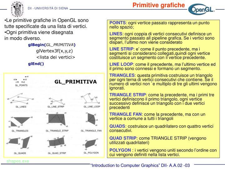Primitive grafiche