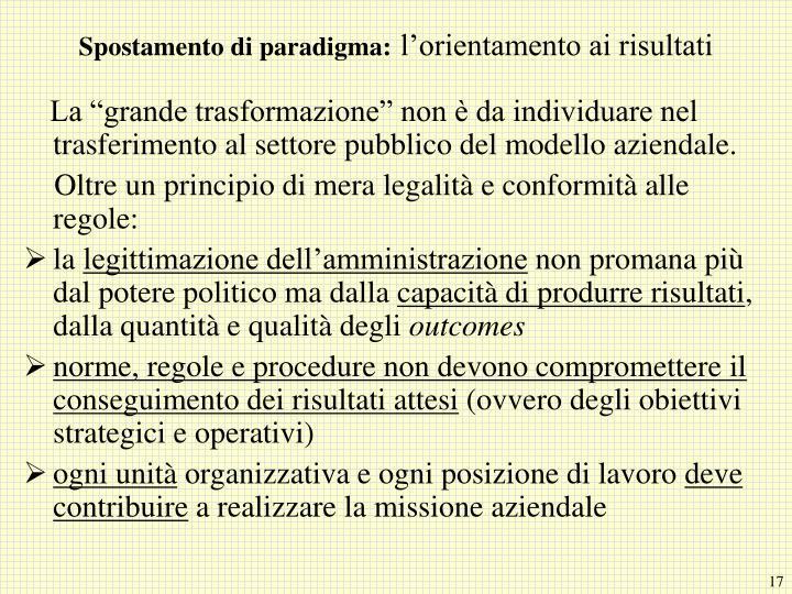 Spostamento di paradigma: