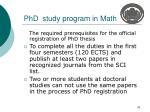 phd study program in math2