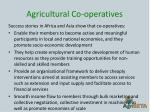 agricultural co operatives
