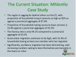 the current situation mhlontlo case study3