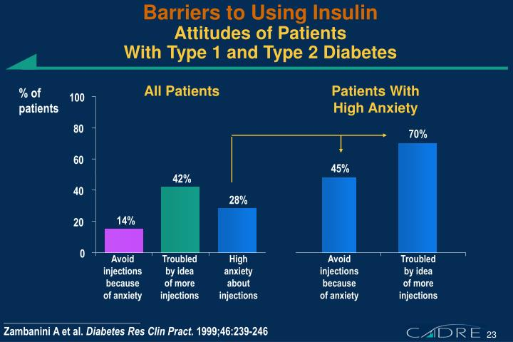Barriers to Using Insulin