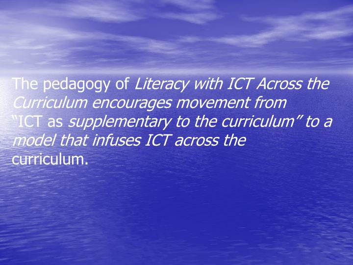 The pedagogy of
