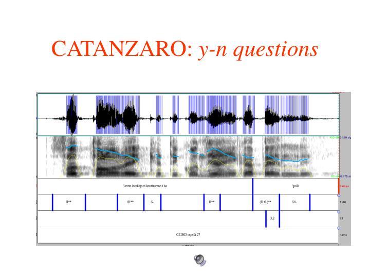 CATANZARO: