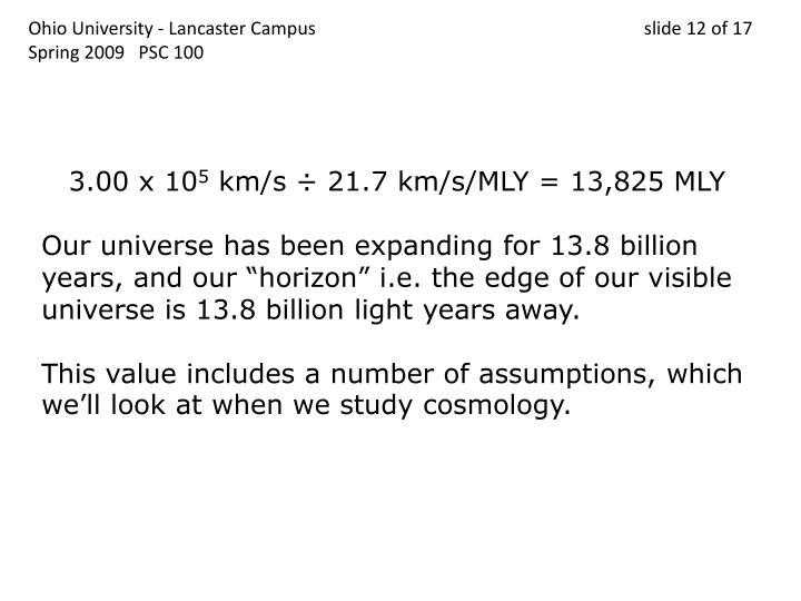 Ohio University - Lancaster Campus                                 slide 12 of 17