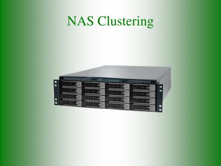 NAS Clustering