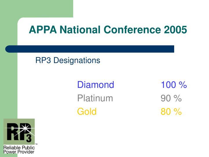 RP3 Designations