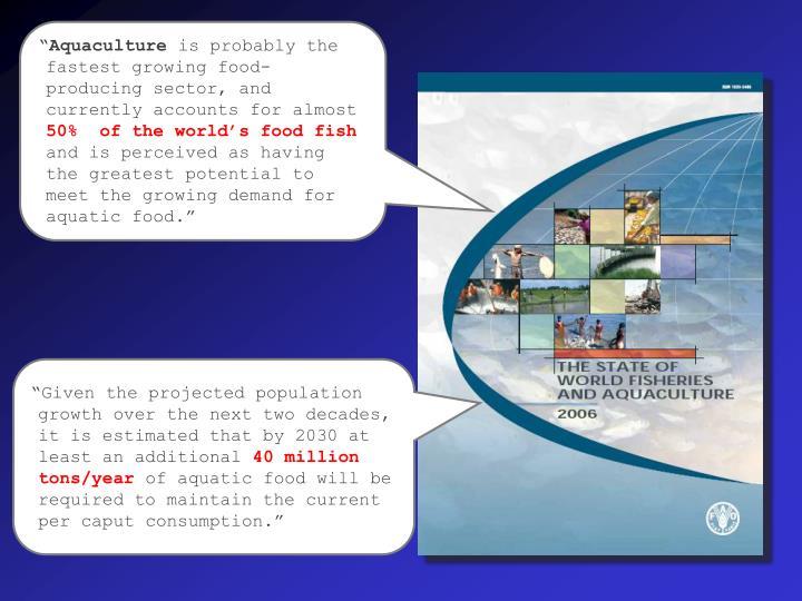 """""""Aquaculture"""