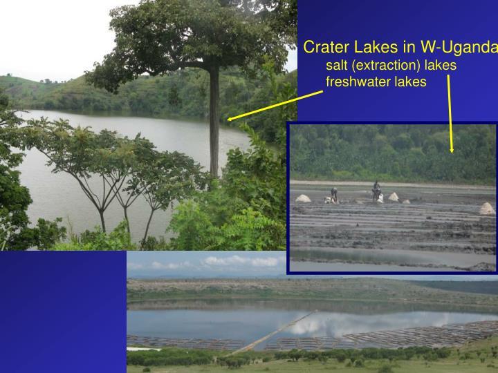 Crater Lakes in W-Uganda