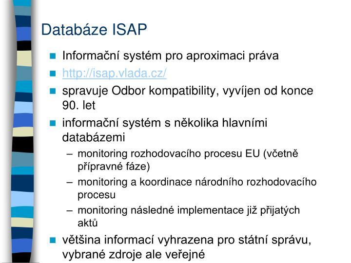 Databáze ISAP