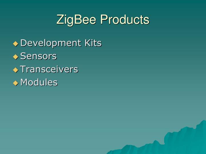 ZigBee Products