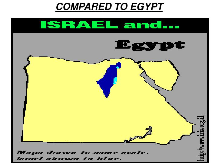COMPARED TO EGYPT