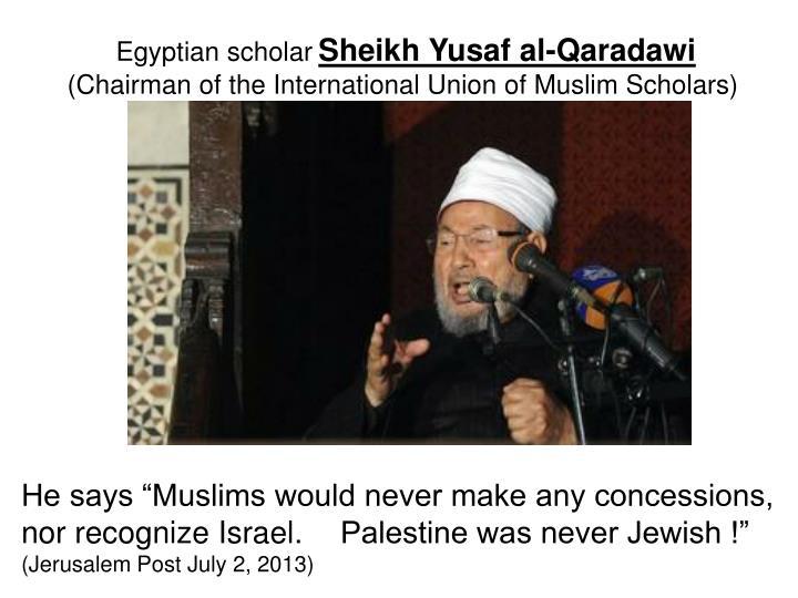 Egyptian scholar