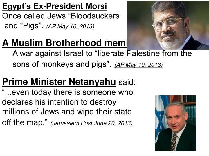 Egypt's Ex-President Morsi