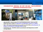 diagnostico inicial de sst en cas red almenara elemento fundamental base