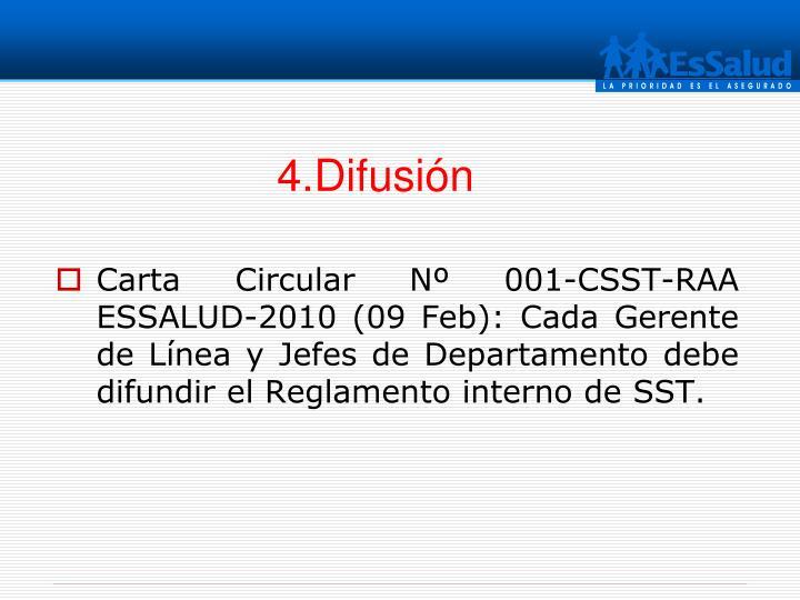 4.Difusión