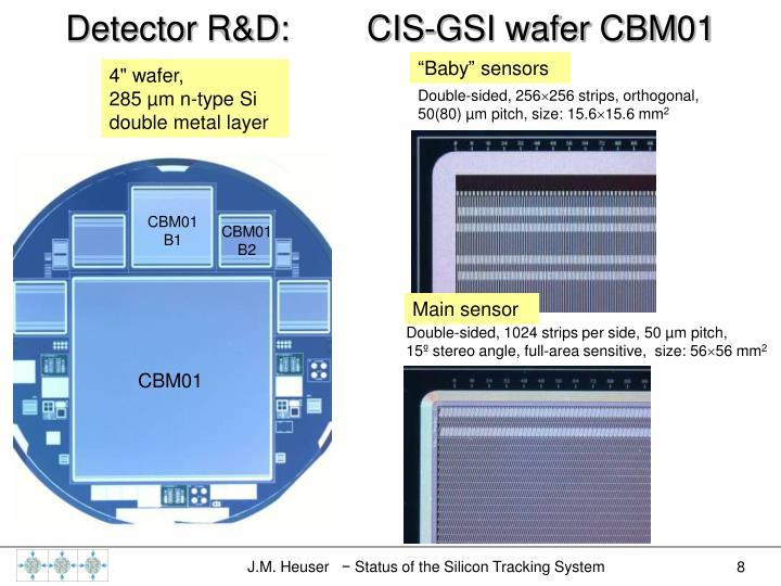 Main sensor