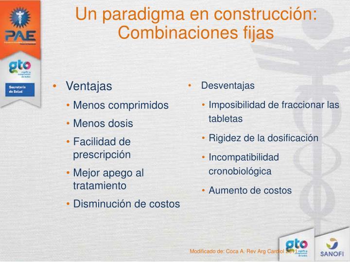 Un paradigma en construcción: