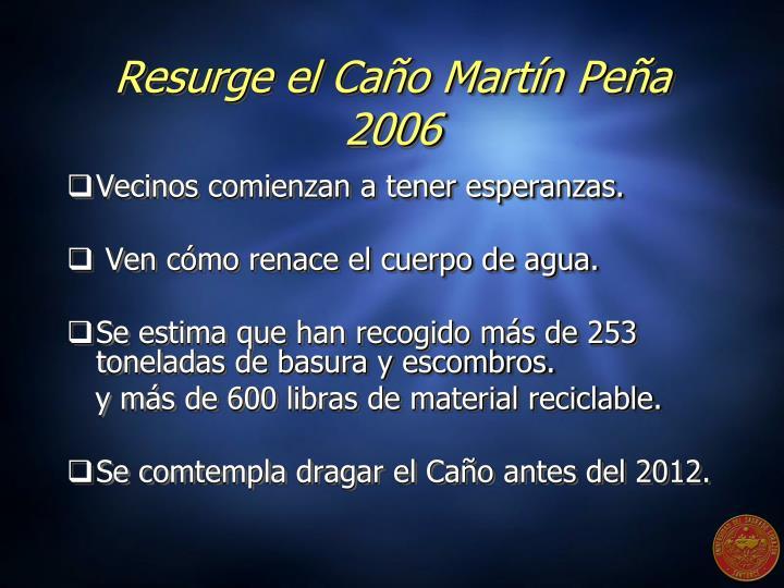 Resurge el Caño Martín Peña