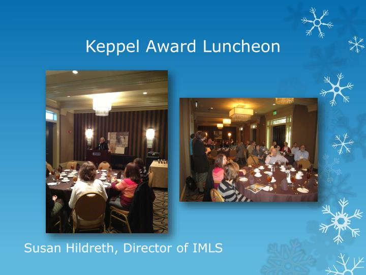 Keppel Award Luncheon